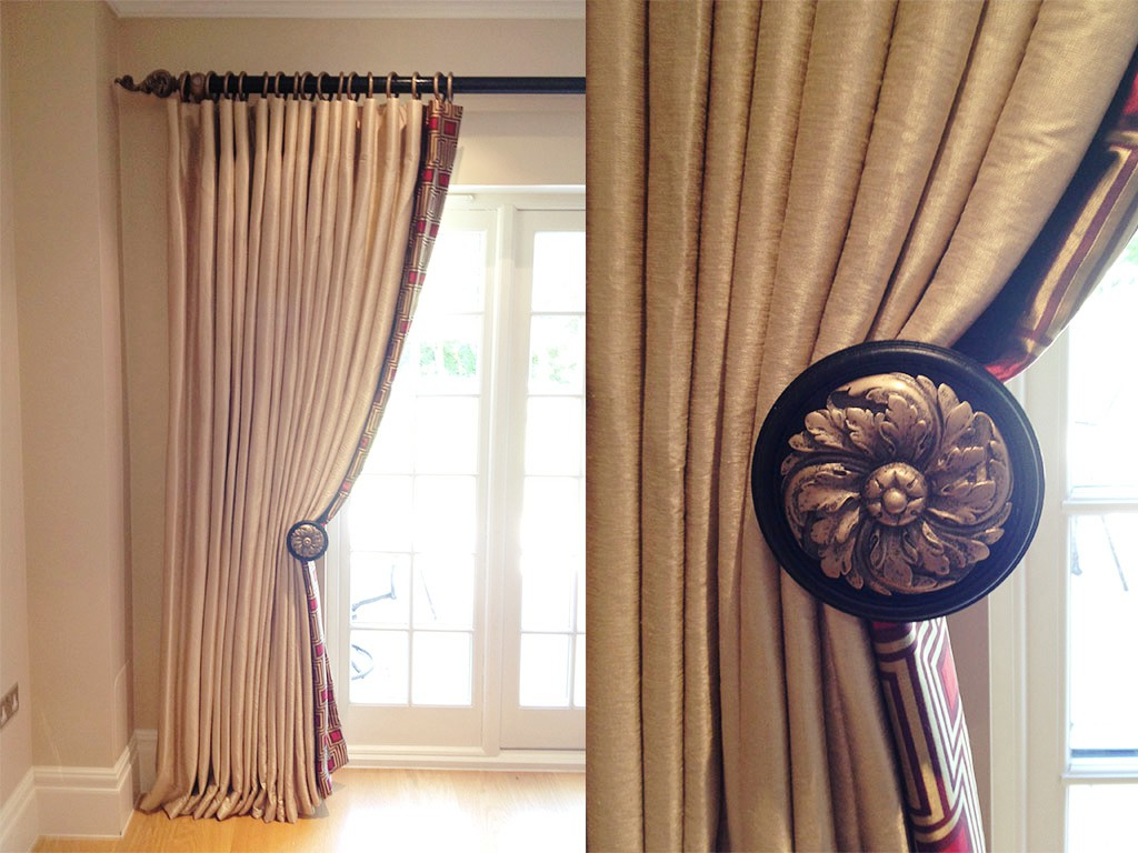 Blackout Curtains, Curtain Poles - Material Concepts Battersea, London-11