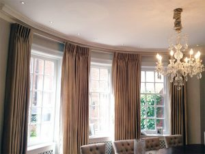 Blackout Curtains, Curtain Poles - Material Concepts Battersea, London-31