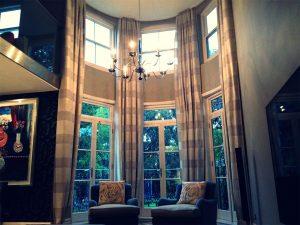 Blackout Long Curtains - Material Concepts Battersea, London