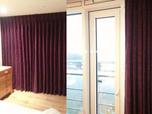Purple Curtains-Material Concepts Battersea, London
