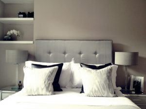 Silver Diamnond Headboard Material Concepts London